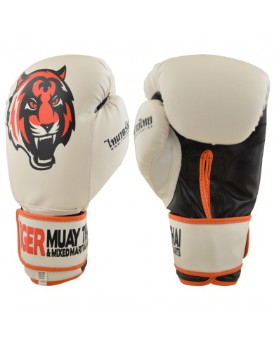 GUANTO IN SIMILPELLE TIGER TMT SERIES BIANCO