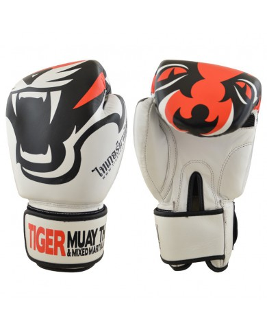 Guanto in pelle tiger limited white edition GUT-370