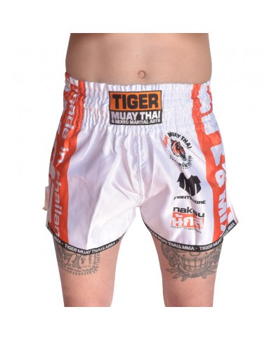 Pantaloncini thai kickboxing white tiger PAN-1991