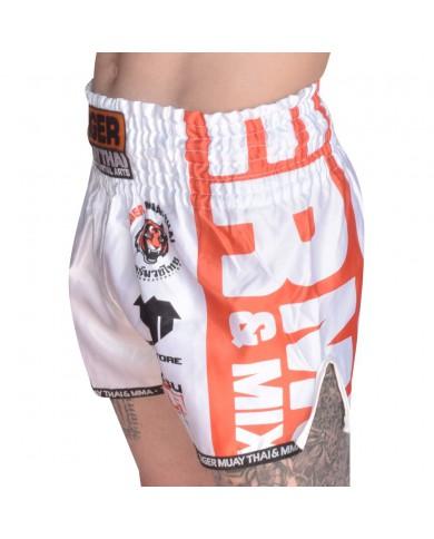 Pantaloncini thai kickboxing white tiger PAN-1991