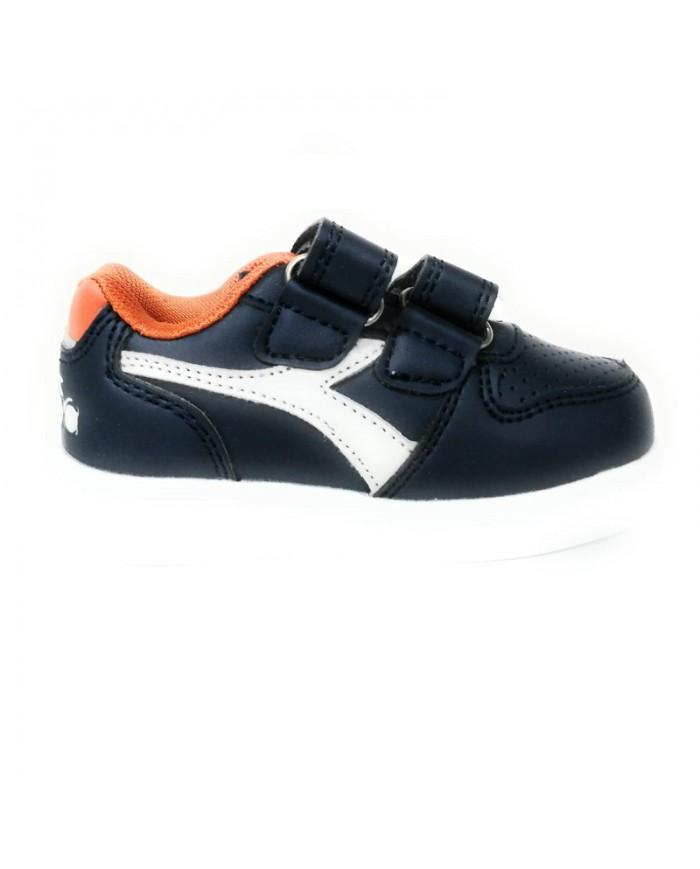 Scarpe Da Bambino Diadora Playground Td Shoes Con Strappo Viola 1011733020155003